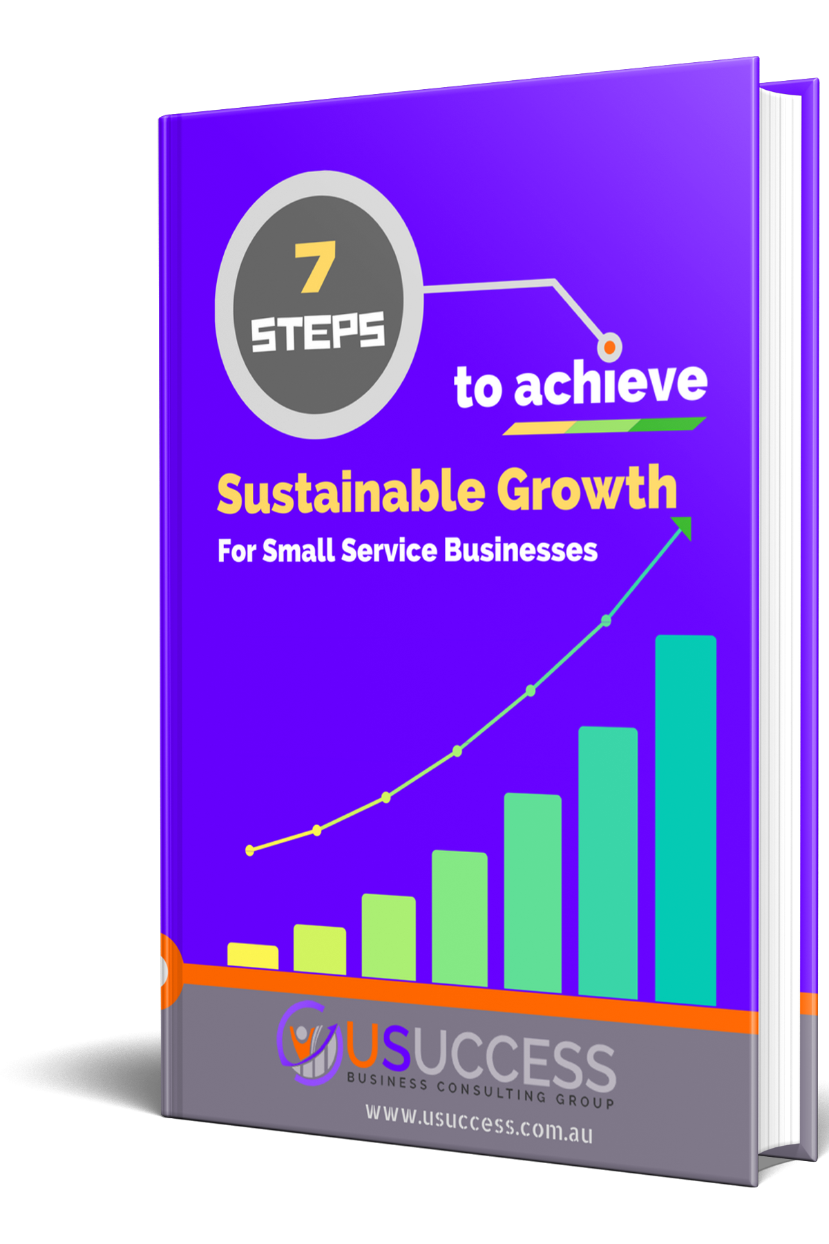 7 Steps to achieve sustainable growth ebook hardback